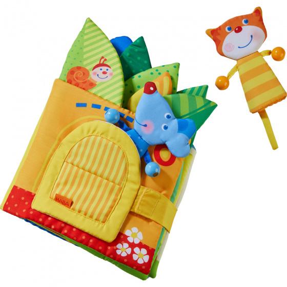 Haba babyboekje Bladerhuis junior 27 cm textiel