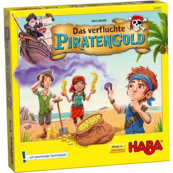 Haba bordspel het vervloekte piratengoud De