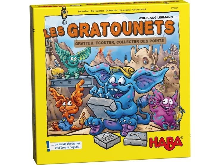 Haba gezelschapsspel Les Gratounets (FR)