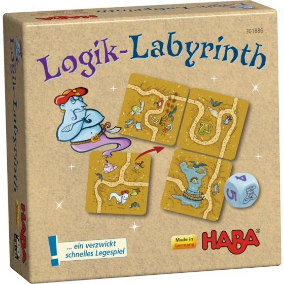 Haba gezelschapsspel logik labyrint du 283598 1553070898