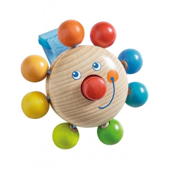 Haba houten buggy speelfiguur Clown 8 cm