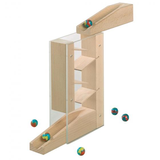 Haba houten knikkerbaanuitbreidingsset Cascade 9 delig