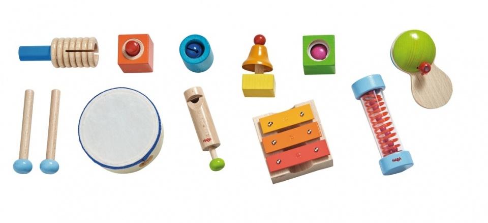 HABA® kinderinstrument, Muziekmakersset