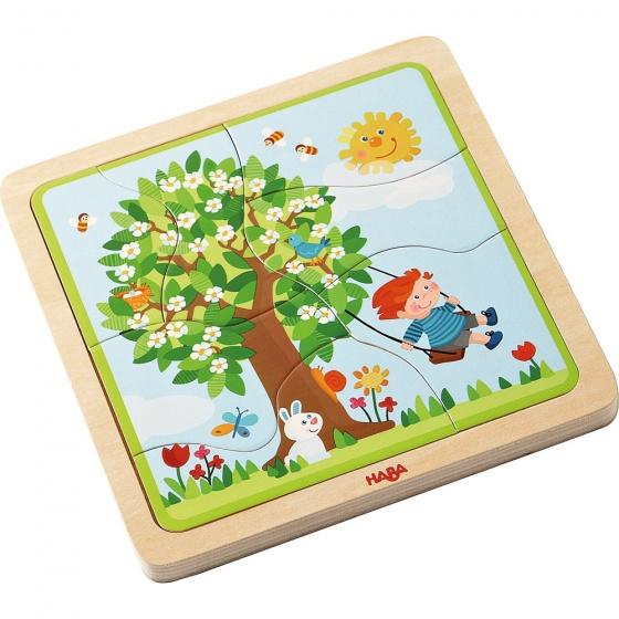 Haba houten puzzel seizoenen 22 delig