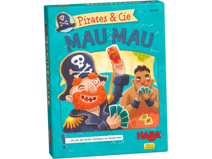 haba kaartspel pirates cie mau mau fr internet toys. Black Bedroom Furniture Sets. Home Design Ideas