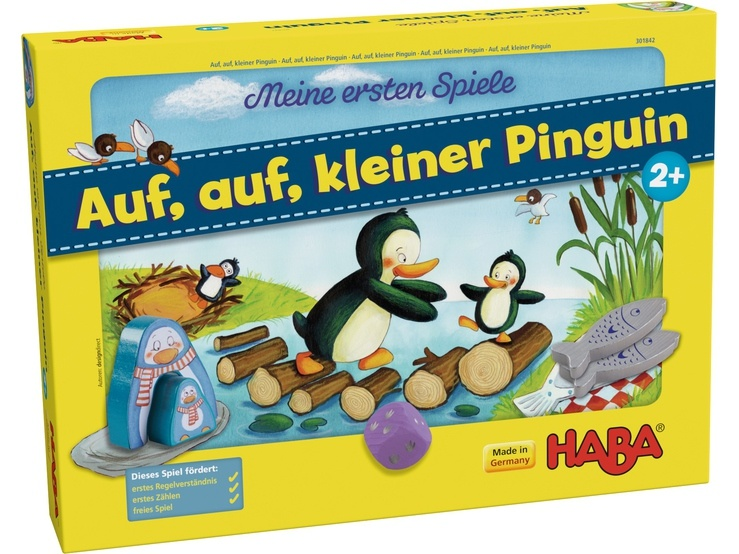 Haba kinderspel Auf, auf, kleiner Pinguin (DU)