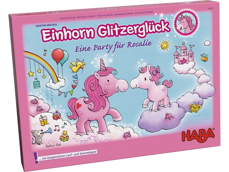 Haba kinderspel Einhorn Glitzerglück Eine party für Rosalie (DU)