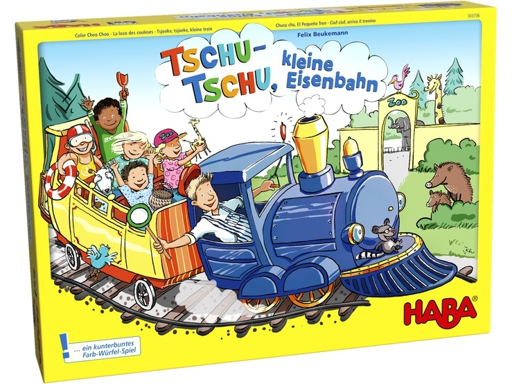 Haba kinderspel Tschu Tschu, kleine Eisenbahn (DU)