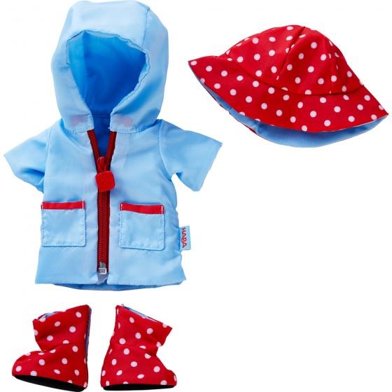 Haba kledingset Regentijd blauw/rood