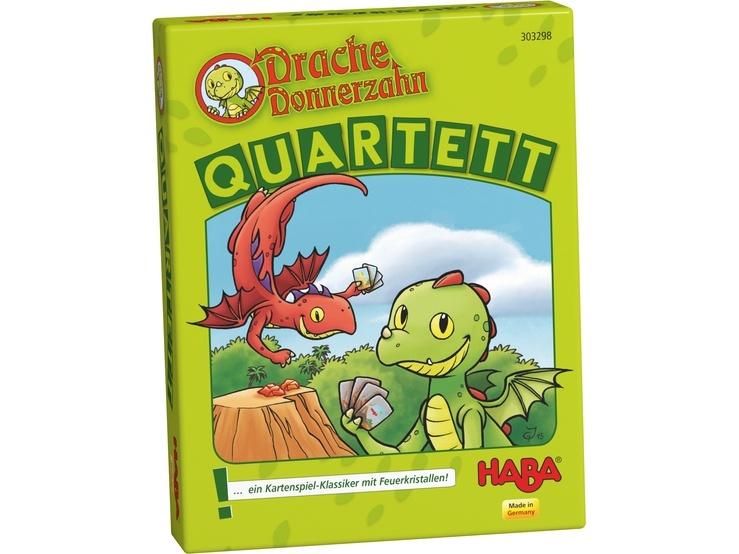 Haba kwartetspel Drache Donnerzahn (DU)