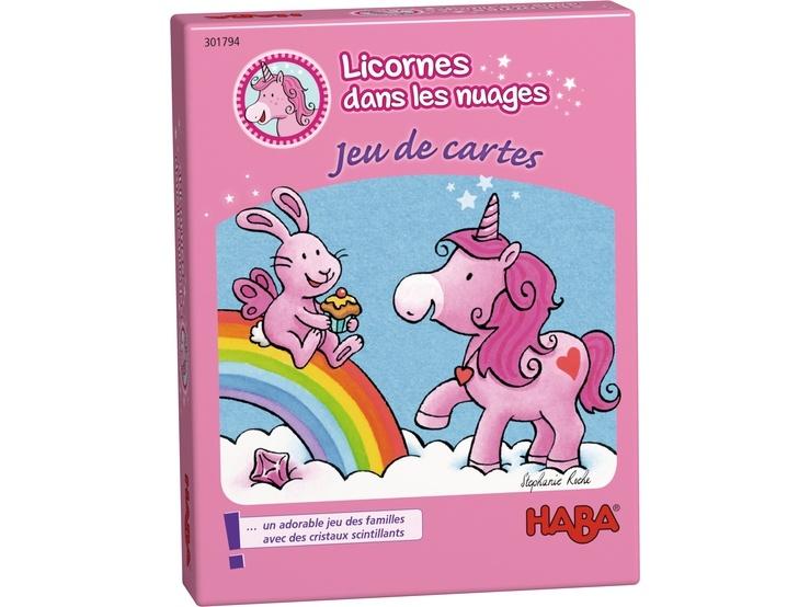 Haba kwartspel Licornes dans les Nuages Jeu de cartes (FR)