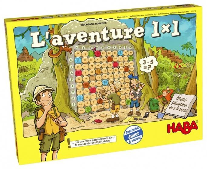 Haba leerspel L'Aventure 1 x 1 (FR)
