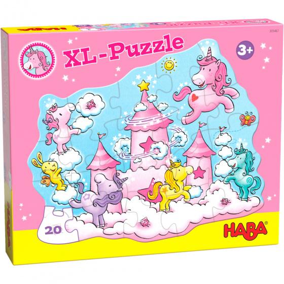 Haba legpuzzel Flonkerglans Wolkenpuzzelpret meisjes 20 stukjes