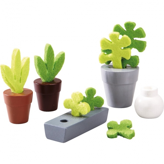 Haba Poppenhuis Bloemen en planten