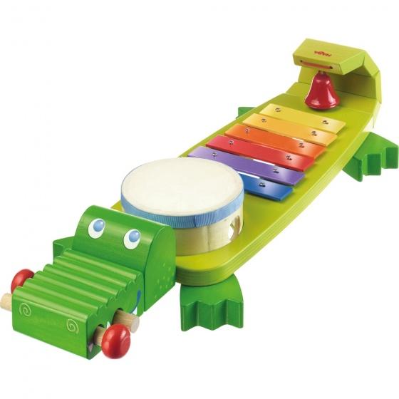 HABA® kinderinstrument, Krokodil met geluid
