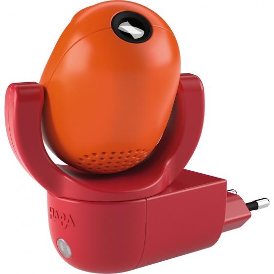 HABA Plug-in projector nachtlamp Sterrenkabouter rood en oranje 302916