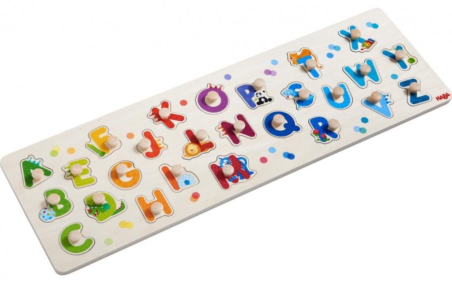 Haba puzzel Mijn eerste ABC 26 stukjes