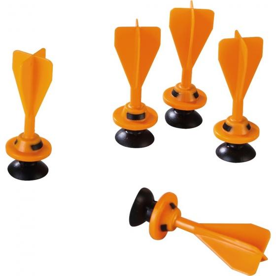 Haba Terra Kids reservepijlen kruisboog 6 cm oranje 5 stuks