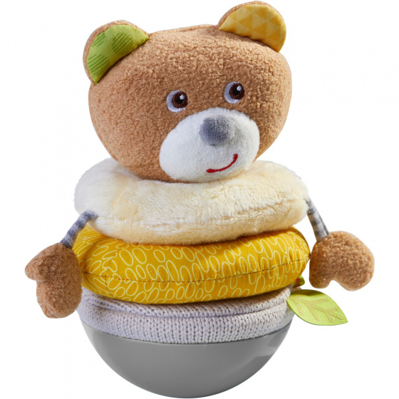 Haba tuimelaar stapelbare beer junior 17 cm pluche