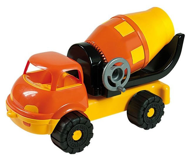 Haber Bouwvoertuig Cementauto Oranje