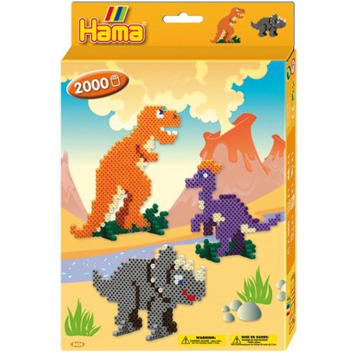 Hama Dinosaurusset 2000 Strijkkralen 255 X 3 X 175 mm (3434)