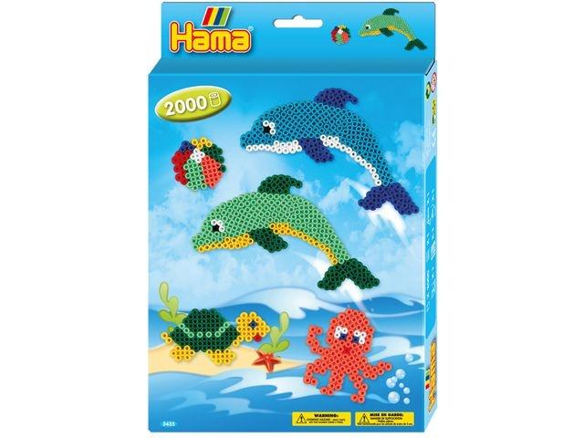Hama Strijkkralen Dolfijnen 2000 Stuks