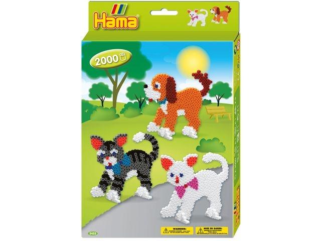 Hama Strijkkralen Hond en Katten 2000 Stuks