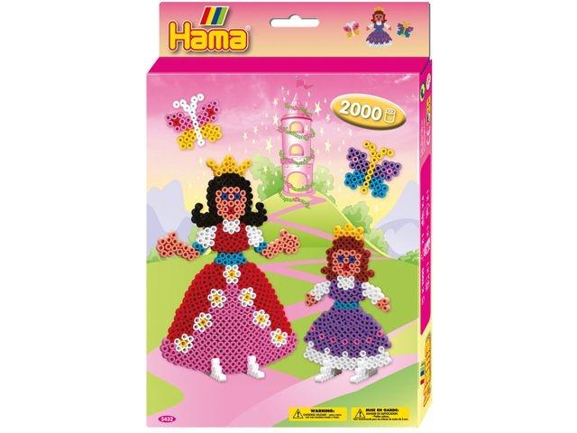 Hama Strijkkralen Prinsessen 2000 Stuks