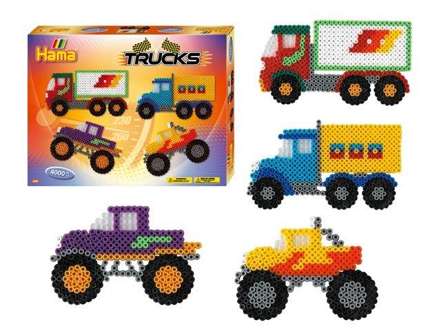 Hama Strijkkralen Trucks 4000 Stuks