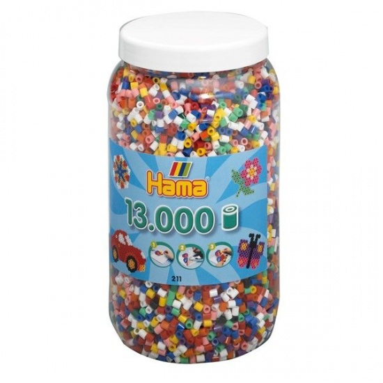 Hama Pot 211: 13.000 strijkkralen