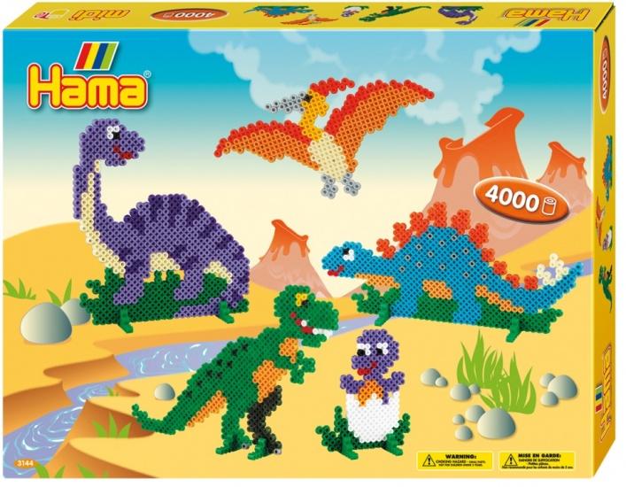 Hama Strijkkralenset 3144 Dinosaurs 4000 kralen