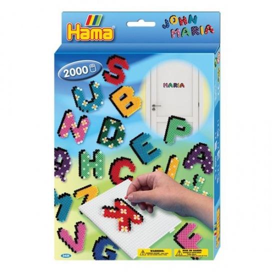 Hama Strijkkralenset 3424 Letters 2000 kralen