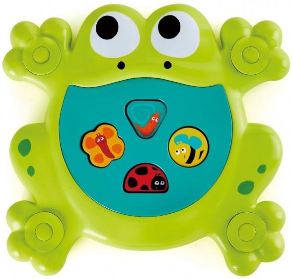 Hape badspeelgoed Feed Me Kikker junior 27 cm groen