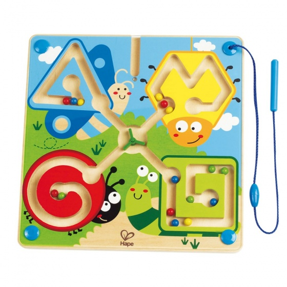 Hape behendigheidsspel Best Bugs Magnetic Maze 25 cm