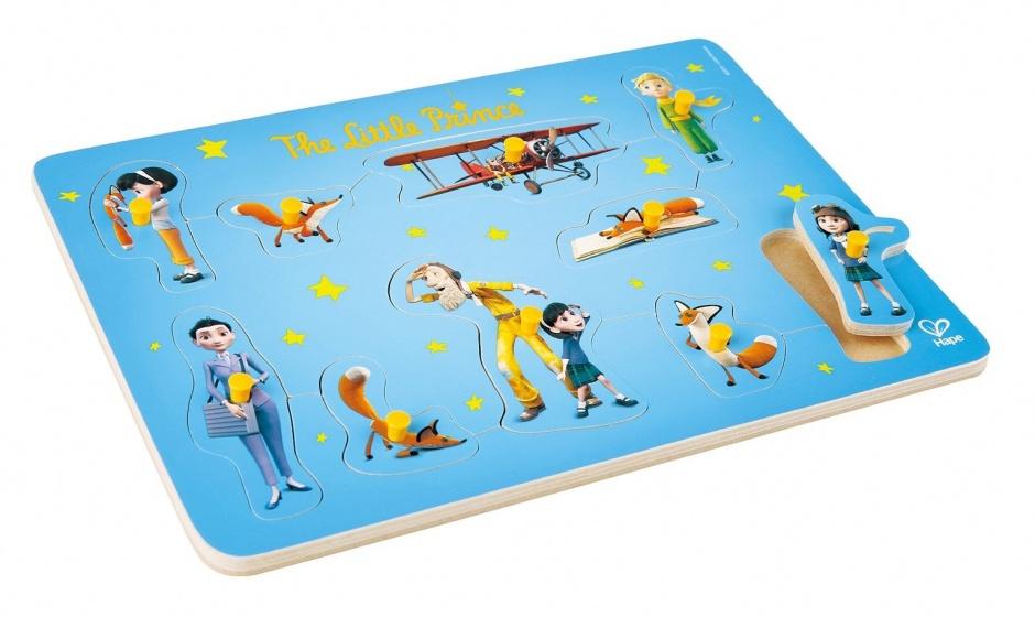 Hape De Kleine Prins puzzel blauw 10 stukjes