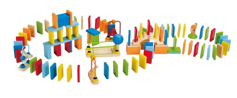 Hape Dynamo Dominoes 107 delig