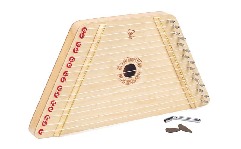 Hape Houten kinder harp