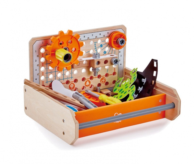 Hape houten gereedschapskist Science Experiment 30 cm