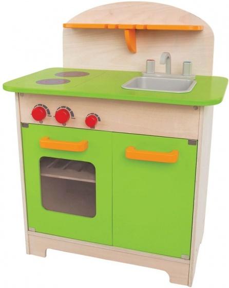 Hape Houten speelgoedkeuken groen