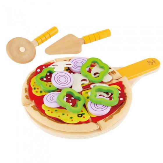 Hape houten speelgoedpizza