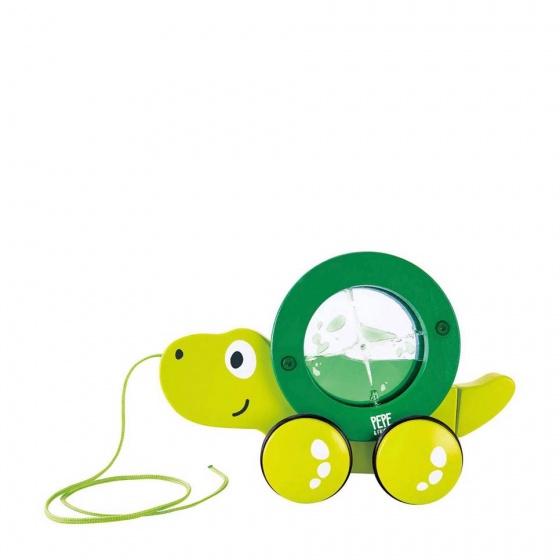 Hape Tito trekspeelgoed groen E0354