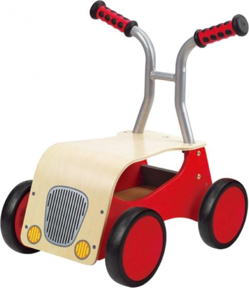 Hape Houten rode loopfiets