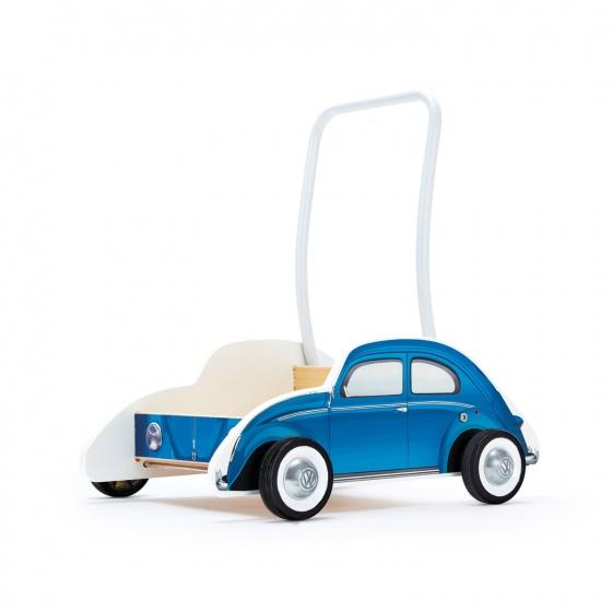Hape loopwagen VW Kever 48 cm blauw