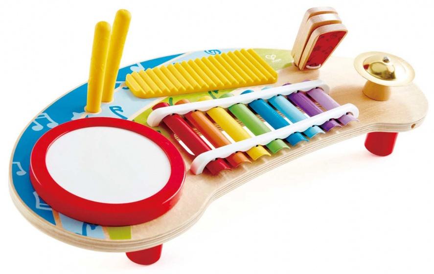 Hape mighty miniband xylofoon 44,5 cm