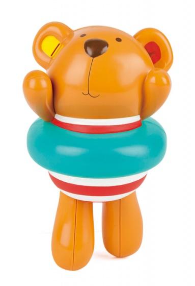 Hape opwindfiguur teddybeer badspeeltje bruin