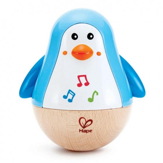Hape tuimelaar Pingun 12,5 cm blauw