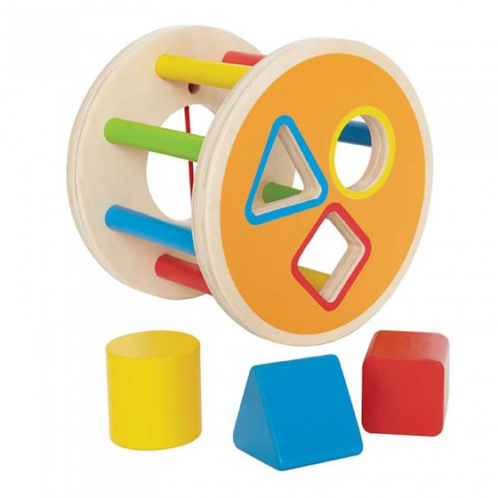 Hape houten vormenpuzzel cilinder
