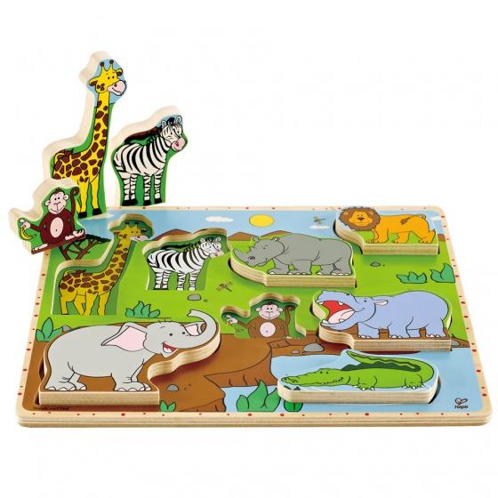 Puzzel 3d Wilde Dieren