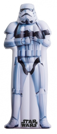 Happy People luchtbed Star Wars Stormtrooper 173x77 cm wit