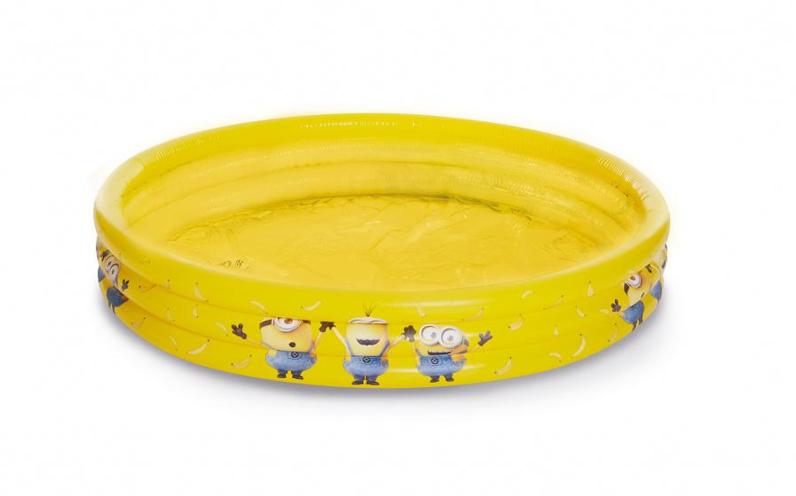 Happy People opblaaszwembad Minions 120 x 24 cm geel
